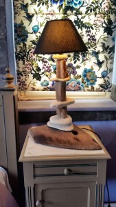 Chambre - L'Ardoise - Lampe artisanale