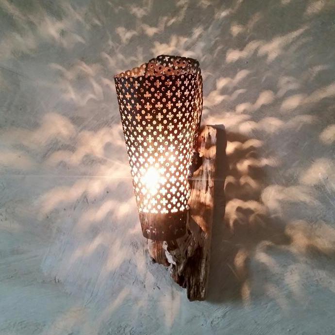 Les Cerfs-volants - Lampe artisanale