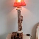 Chambre - La Plage - Lampe artisanale